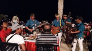 live music at jimbaran bay seafood